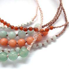 bead & thread bracelets