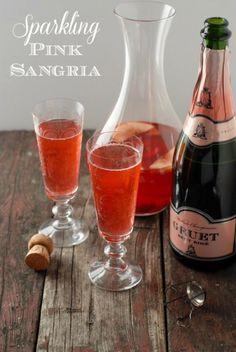 Sparkling Pink Sangria