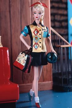 barbi collect, bowl champ, barbi 2000, champ barbi, barbie collectors, barbi doll, bowling, 2000 bowl, champs