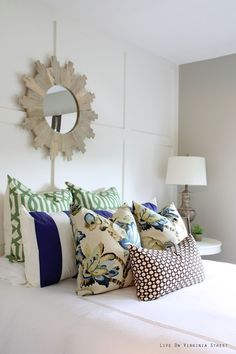 pretty pillow/fabrics