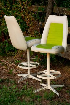 "Mid Century Modern ""California Style Furniture"" Bar Stools on Etsy, $300.00"