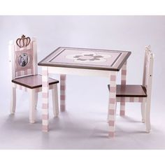 Who 39 s in charge the baby - Svan table and chair set ...