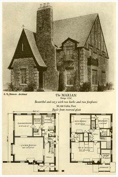 1927 Brick Houses: The Marian (Okay, I had to pin this!)