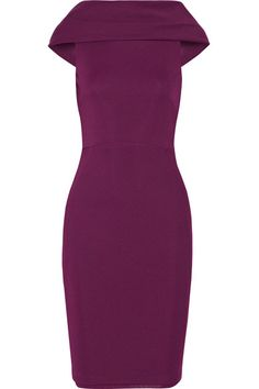 Donna Karan Draped Stretch Jersey dress