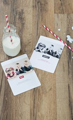 Sweet personalized Christmas cards!