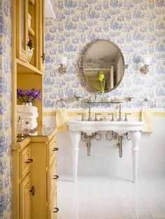 Double faucet, single sink!