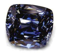 Blue Lili Diamond ,30.06-carat blue diamond cut by the William Goldberg Corporation.