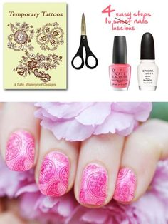 DIY Style: Tattooed Nails