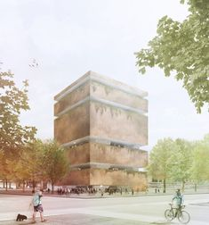 Winner of Centro Cultural Chapultepec Competition / Javier Mosquera González