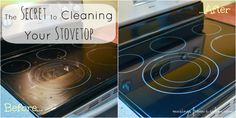 #home #Cleaning #Tips - The Secret to Cleaning your Stove Top / Cooktop