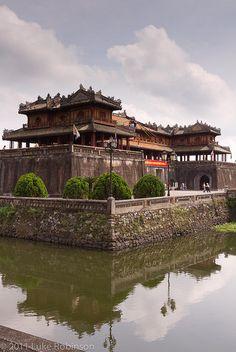 la cittadella proibita di Hue http://viaggi.asiatica.com/