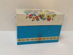 Vintage Recipe Box- Ohio Art
