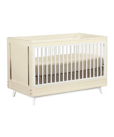 Crème Kudos Stationary Crib by Young America on #zulily