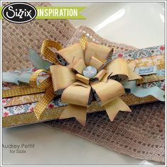 Sizzix Inspiration | Enjoy Today Altered Gift Box by Audrey Pettit
