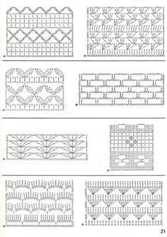 mixed stitch ideas