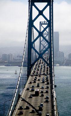 Oakland Bay Bridge. San Francisco, CA