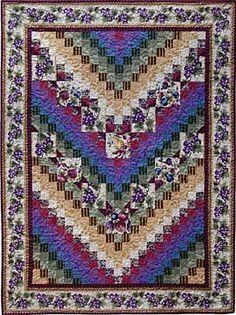 Big Block Bargello Quilt Pattern