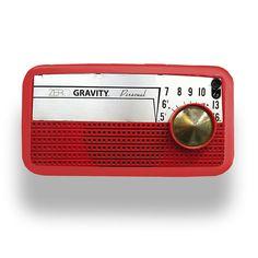 Vintage Radio - Apple iPhone 4 or 4S Custom Case by ZERO GRAVITY