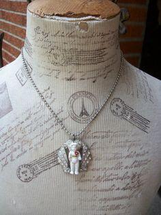 Frozen Charlotte necklace
