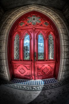 St. Edward's University - Austin, Texas   ..rh #myobsessionwithreddoors