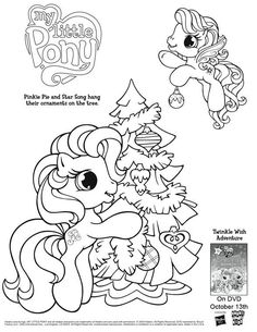 disney thanksgiving coloring pages | My Little Pony Coloring Page - Free Printable Coloring Pages