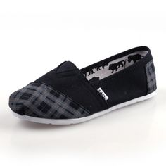 Black Plaid Rubber Sole Men's Artist [Toms003] - $29.00 : Toms Shoes Outlet,Cheap Toms Shoes Outlet Save Up To 80% Off