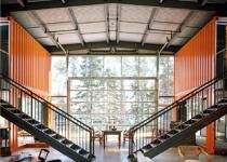Dreamhouse cargo container architecture on pinterest 90 pins - Kalkin shipping container homes ...