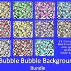 This is a set of 11 bubble themed background images for you to use in your classroom decor or TPT documents. Please see terms of use. ...