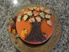 Thanksgiving Cake by BriefCakes, via Flickr