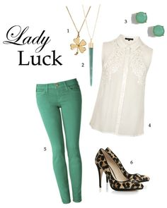 A St. Patrick's Day Outfit