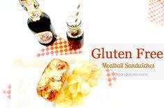 Gluten Free Meatball Sandwiches