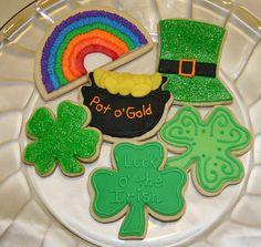 Saint Patricks Day Cookies