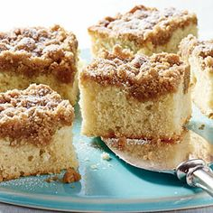 40  Mouthwatering Holiday Desserts | Vanilla Buttermilk Crumb Cake | CoastalLiving.com