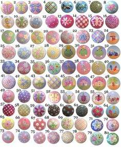 Childrens KIDS Painted Drawer Pulls Knobs - You choose the design. $6.00, via Etsy.