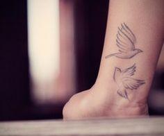 doves: Ahhh wrist tattoooo tattoo ideas, bird tattoos, wrist tattoos, a tattoo, beauty, birds, white ink, new tattoos, sparrow