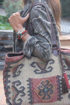 burlap, boho bags diy, bohemian style carpet, urban outfitters, purs, carpets, bohemian style diy, bags bohemian, camouflage
