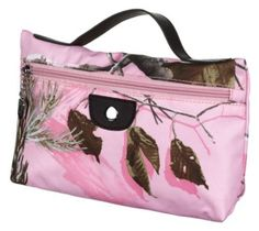Camo Cosmetic Bag - Realtree APC™ Pink/Chocolate | Bass Pro Shops