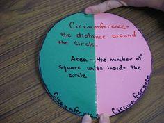 geometry...circle foldable
