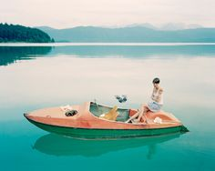 color, art style, life style, lake, beauti, blog, happy weekend, boatingromant life, stephani wiegner
