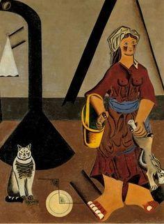 "La masovera"".Joan Miró"