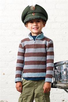 Love the stripes in this crochet sweater! Jonas Sweater - Media - Crochet Me