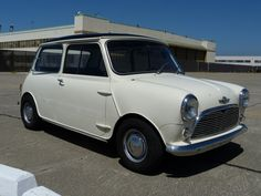 1960 Morris Mini White For Sale Front
