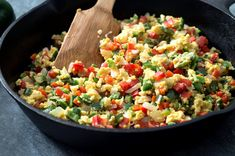 Scrambled Peppers and Eggs