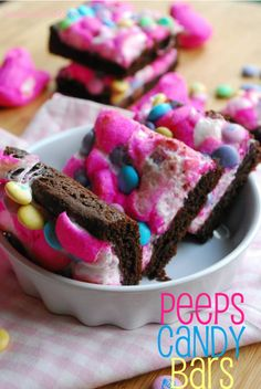 peeps candy bars - flat out delicious #PEEPS