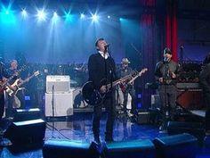 "David Letterman - The Afghan Whigs: ""Matamoros"""