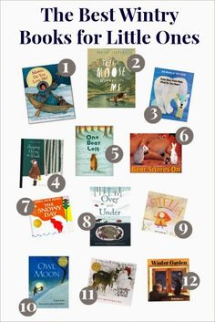 Th Best Wintry Books for Little Ones - 12 Great Reads for Snowy Weather!