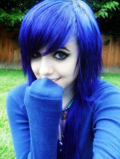 Emo Girl Blue Hair on Transgender Boys Feminine Hairstyles