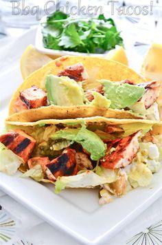 Barbeque Chicken Tacos