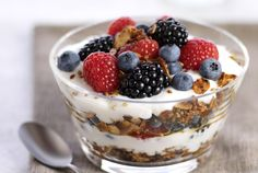 Driscoll's Mixed Berry Parfait with Steel-Cut Granola | www.driscolls.com