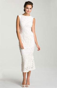 JS Collections Soutache Overlay Gown | Nordstrom